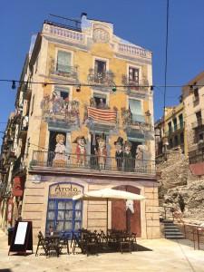 Tarragona - Graffiti - Crema Catalana een blog over Spanje