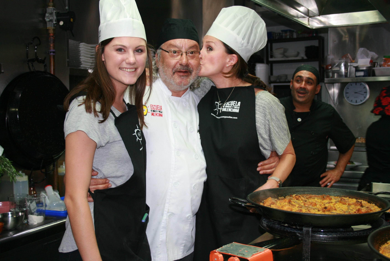 Kus van de meester voor de paella - Crema Catalana - blog over Spanje